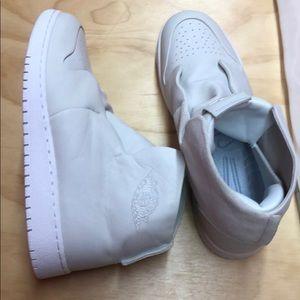 New white Jordan's
